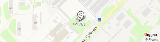 Отдел ГИБДД Отделения МВД России по г. Муравленко на карте Муравленко
