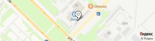 Золотой гвоздь на карте Муравленко
