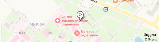 Родильный дом на карте Муравленко