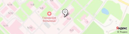 Муравленковская городская больница на карте Муравленко