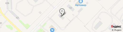 Есения на карте Муравленко
