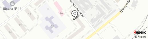 Дом, ТСЖ на карте Ноябрьска