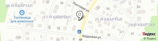 Народный на карте Ноябрьска