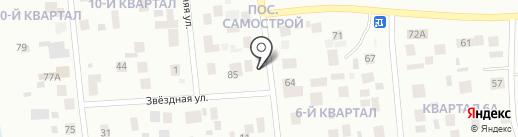 Банька на дровах на карте Ноябрьска