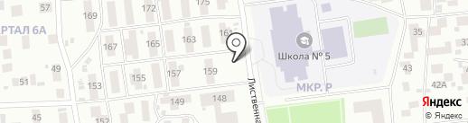 Автомастерская на карте Ноябрьска