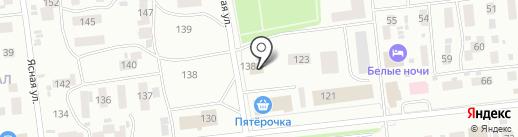 Пятерочка с + на карте Ноябрьска