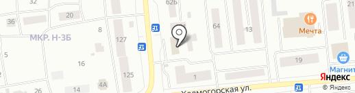 Лилия на карте Ноябрьска