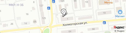 Гиппократ на карте Ноябрьска