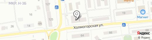Школьный стиль на карте Ноябрьска