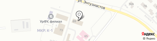 ЯМАЛ-Тент на карте Ноябрьска