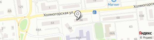 Ноябрьская жилищно-сервисная компания №3 на карте Ноябрьска