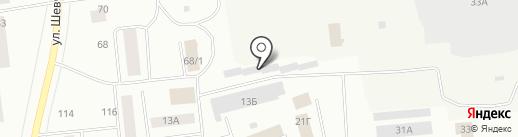 Похоронный дом на карте Ноябрьска