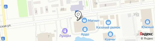 Хуторок на карте Ноябрьска