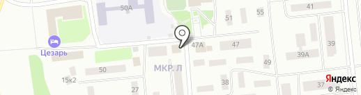 Ромашка на карте Ноябрьска