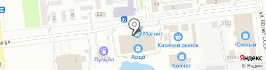 Альфалес45 на карте Ноябрьска