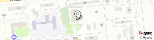 Центр национальных культур на карте Ноябрьска