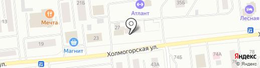 Ноябрьские электрические сети на карте Ноябрьска