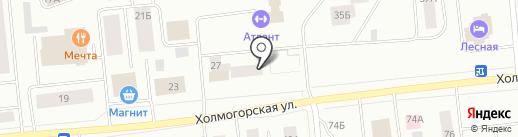 Алекс на карте Ноябрьска
