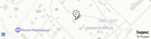 Баня на карте Ноябрьска