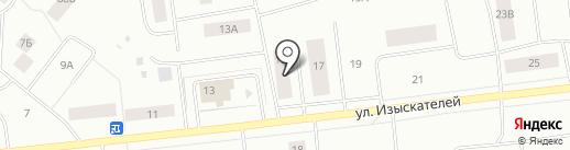 Байкал на карте Ноябрьска
