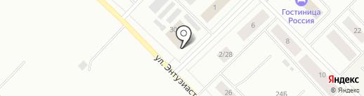 Мегафон на карте Ноябрьска