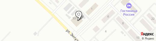 Дина-Лайф на карте Ноябрьска