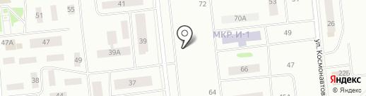 Акуна матата на карте Ноябрьска