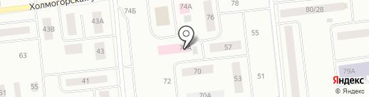 Военторг89 на карте Ноябрьска