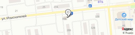 Анжи на карте Ноябрьска