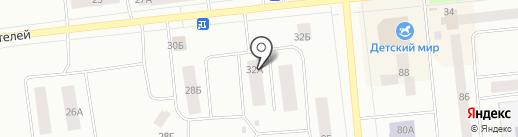 ГеоВектор на карте Ноябрьска