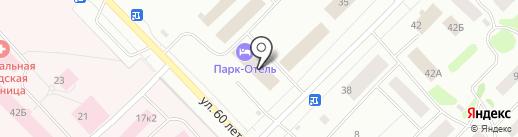 Парк-Отель на карте Ноябрьска