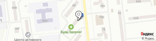 Ямал, ТСЖ на карте Ноябрьска
