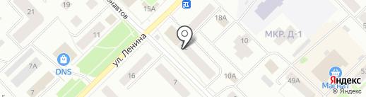 Квартал, ТСЖ на карте Ноябрьска