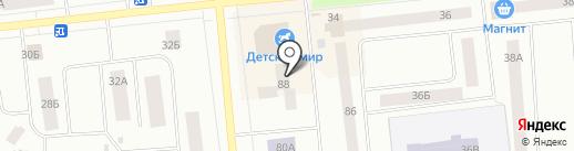 Левша на карте Ноябрьска