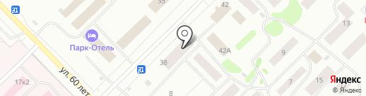 Капитал на карте Ноябрьска