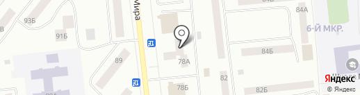 Банкомат, Газпромбанк на карте Ноябрьска