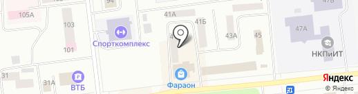 Отдел вневедомственной охраны г. Ноябрьск на карте Ноябрьска