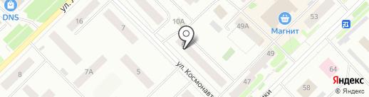 Космос, ТСЖ на карте Ноябрьска