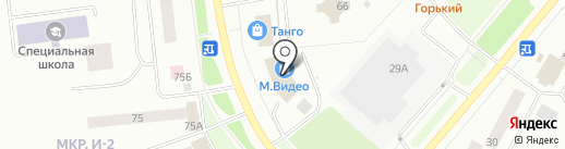 М.Видео на карте Ноябрьска