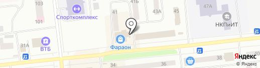 Магазин товаров для рыбалки на карте Ноябрьска