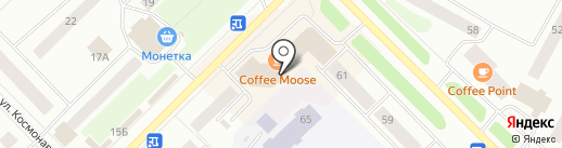 Живика на карте Ноябрьска