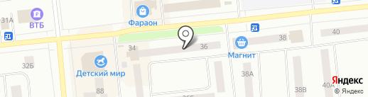 Норд Авто Плюс на карте Ноябрьска