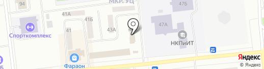 Ханто на карте Ноябрьска