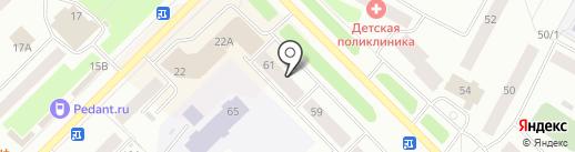 L`Idille на карте Ноябрьска