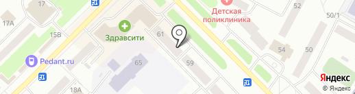 Дальнее СМП, ТСЖ на карте Ноябрьска