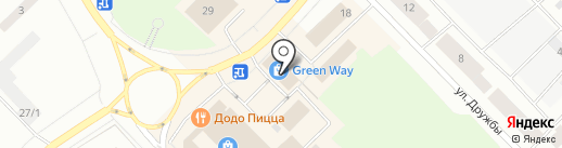 Green Way на карте Ноябрьска