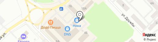 Glamour на карте Ноябрьска