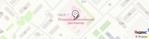 Ноябрьский психоневрологический диспансер на карте Ноябрьска