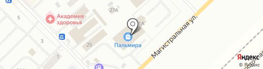 Промснабкомплект на карте Ноябрьска
