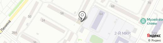 Почтовое отделение №7 на карте Ноябрьска